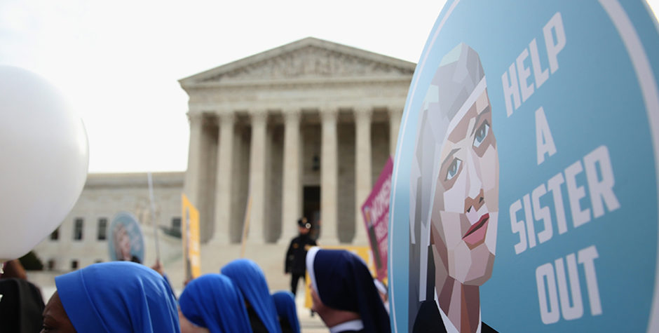 Supreme Court Vindicates Little Sisters of the Poor Against the Abortion-Pill Mandate